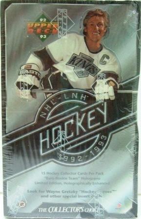 1992/93 - Upper Deck - Hockey - Series 1 - Trading Cards