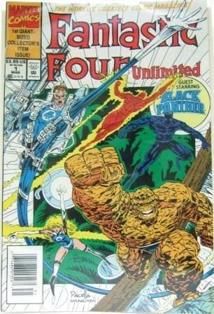 1992 - Marvel - Fantastic Four -  Unlimited - Comic Book