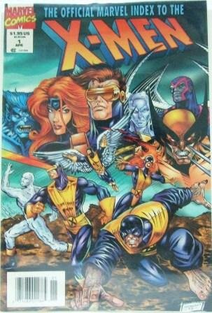 1994 - Marvel - The Official Marvel Index To The X-Men - Comic Books