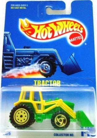1991 - Tractor - Mattel - Hot Wheels - Collector #145