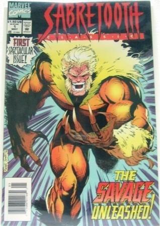 1994 - Marvel - Sabretooth Classic - Comic Books