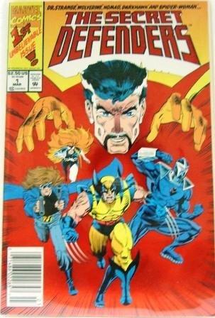 1993 - Marvel - The Secret Defenders - Comic Books