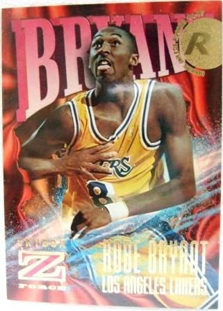 1996/97 - Kobe Bryant - NBA Basketball - Fleer/Skybox - Z Force - Rookie Card #142