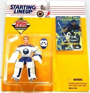 1995 - Dominik Hasek - Action Figures - Starting Lineups - Hockey - Sabres - Rookie Slu