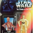 1995 - C-3PO - Action Figures - Star Wars - The Power of the Force - Red Card