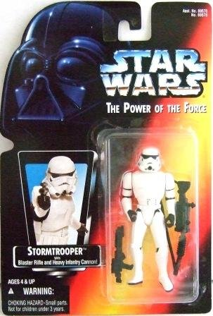 1995 - Storm Trooper - Action Figures - Star Wars - The Power of the Force - Red Card
