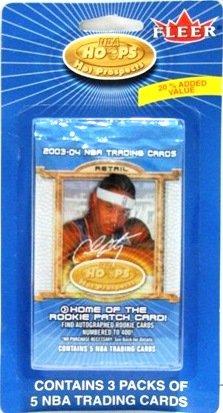 2003-04 - Fleer - Hot Prospects - NBA Basketball - 3 Packs Per Card - Sports Cards
