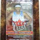2003-04 Fleer Ultra NBA Basketball Sports Card 3 Packs