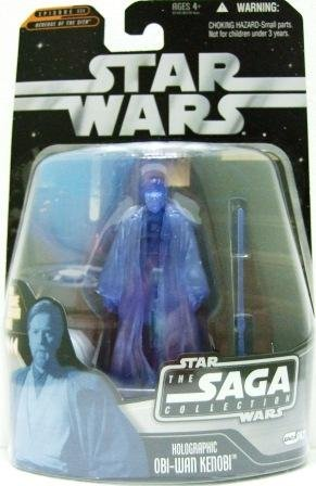 2007 - Holographic Obi-Wan Kenobi #063 - Action Figures - Star Wars - The Saga Collection