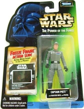 1997 - Captain Piett - Action Figures - Star Wars - The Power of the Force - Freeze Frame