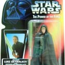 1996 - Luke Skywalker Jedi Knight - Brown Vest - Star Wars - The Power of the Force - Red Card