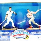 2001 - Todd Helton / Mark McGwire - Action Figures - Starting Lineups - Classic Doubles - Baseball