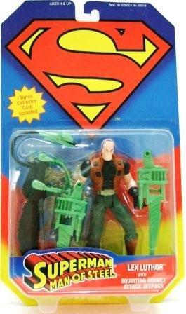 1995 - Lex Luthor - Action Figures - Kenner - DC Comics - Superman - Man of Steel