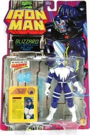 1995 - Toy Biz - Marvel Comics - Iron Man - Blizzard - Toy Action Figure