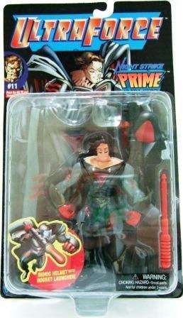 1995 - Night Strike - Action Figures - UltraForce - Prime Ultra Hero