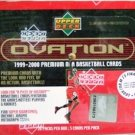 1999/2000 - Upper Deck - Ovation - NBA Basketball - Sports Cards