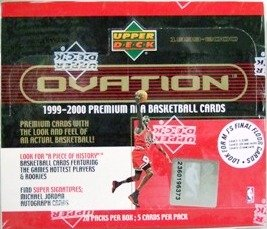 1999/2000 - Upper Deck - Ovation - NBA Basketball - Sports Cards