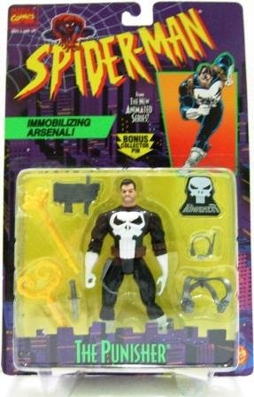 1994 - The Punisher - Toy Biz - Marvel Comics - Spider-Man - The New Animated Series
