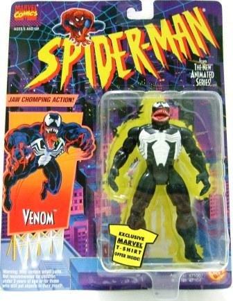 1994 - Venom - Toy Action Figures - Toy Biz - Marvel Comics - Spider-Man - The New Animated Series