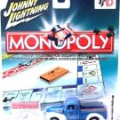 2005 - Monopoly - Water Works '40 Ford Pick-up - Die-cast Metal - Johnny Lightning