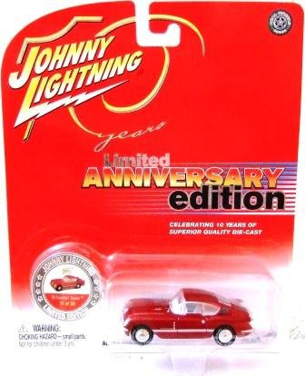 2004 - '54 Corvette Corvair - Johnny Lightning - 10th Anniversary Edition - Die-cast Metal Cars