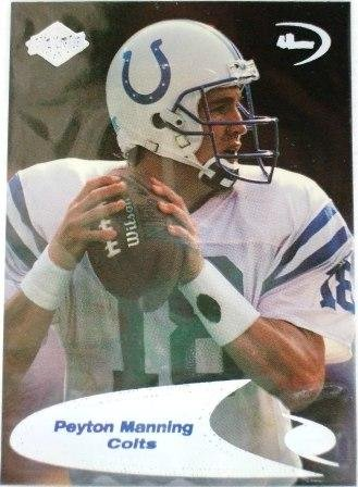 1998 - Peyton Manning - Collectors Edge - Odyssey - Football - Rookie Card # 239s