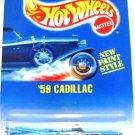 1991 - 59 Cadillac - Hot Wheels - Collector # 266