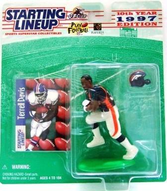 1997 - Terrell Davis - Action Figures - Starting Lineups - Football - Broncos