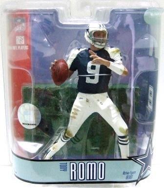 2007 - Tony Romo - Variant -  McFarlane's - Sports Action Figure - Football - Dallas Cowboys