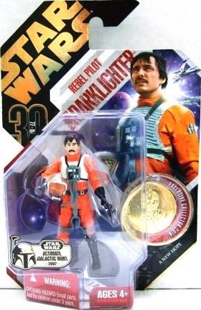 2007 - Rebel Pilot Biggs Darklighter - Hasbro - Star Wars - Ultimate Galactic Hunt - A New Hope