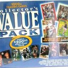 1000+ Trading Cards Collector's Value Pack
