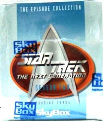 1995 - SkyBox - Star Trek - The Next Generation - Season Two - Trading Cards