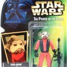 1997 - Nien Nunb - Action Figures - Star Wars - The Power of the Force - Green Card