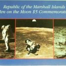 1969/1989 - Republic of the Marshall Islands - First Men on the Moon - $5 Commemorative Coin