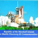 1988 - Republic of the Marshall Islands - Space Shuttle Discovery - $5 Commemorative Coin