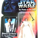 1996 - Princess Leia Organa - Action Figure - Star Wars - The Power of The Force - Red Card