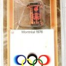 1896-1996 - Centennial Collection - Olympic Games Pin-Cards - Montreal 1976