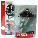 2002 - Michael Vick - Black Jersey Variant - Sports Action Figure - McFarlane's - Football - Falcons