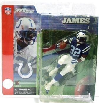 2001 - Edgerrin James - Sports Action Figure - McFarlane's - Football - Colts