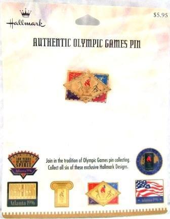 1896-1996 - Centennial - Hallmark - Atlanta - Olympic Games Pin - #4