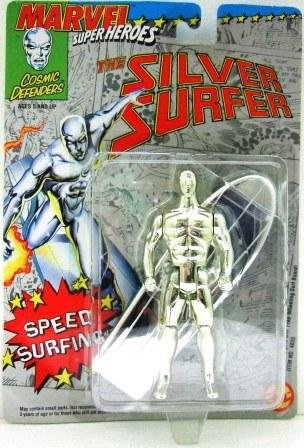 1992 - The Silver Surfer - Action Figures - Toy Biz - Marvel Super Heroes - Speed Surfing