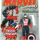 1994 - US Agent - Action Figures - Toy Biz - Marvel Super Heroes - Shield Launcher