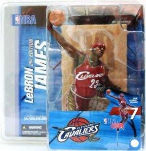2004 - LeBron James - Sports Action Figure - McFarlane's - Basketball - Cavaliers
