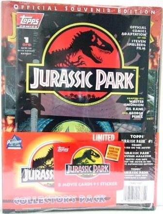 1993 - Topps Comics - Jurassic Park - Special Collector's Pack - Comic Books