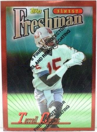 1996 - Terrell Owens - Topps Finest - Rookie Card #338