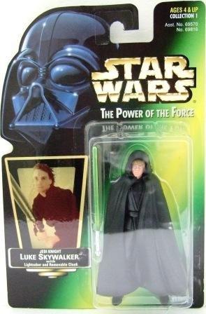 1997 - Luke Skywalker - Jedi Knight - Star Wars - The Power of the Force - Green Card