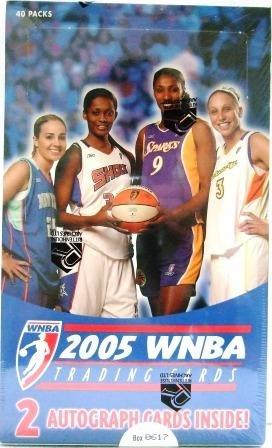 2005 - Ritterhouse - WNBA - Trading Cards