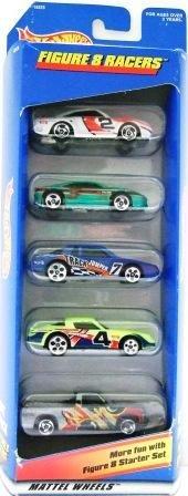 1996 - Mattel - Hot Wheels - 5 Car Gift Pack - Figure 8 Racers