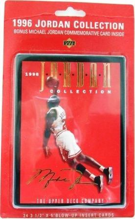"""1996 Upper Deck """"Jordan Collection"""" NBA Basketball Set"""
