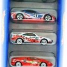 1996 - Mattel - Hot Wheels - 5 Car Gift Pack - Flag Flyers